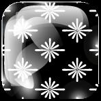Kiku bishi, motif de tissu japonais